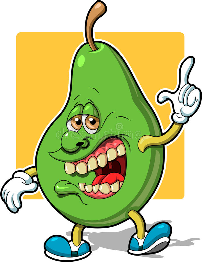 Pear Man Royalty Free Stock Image