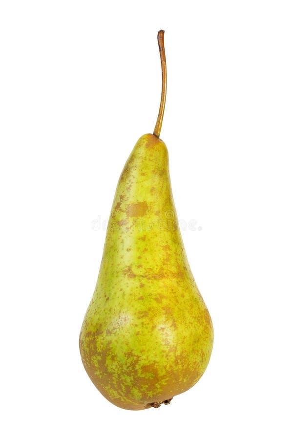Pear på vit royaltyfria foton
