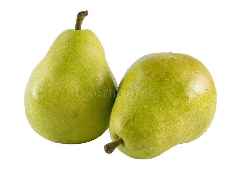 Pear Pair royalty free stock photo
