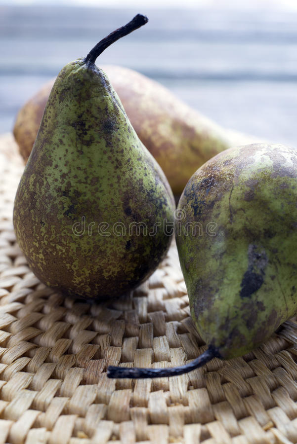 Download Pear stock image. Image of wicker, still, pears, up, life - 37264371