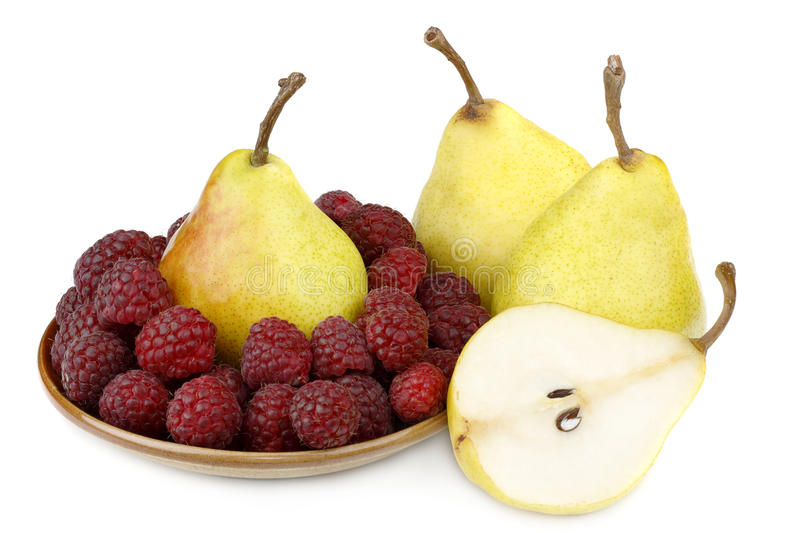 Download Pear And Raspberries Stock Photos - Image: 10953823