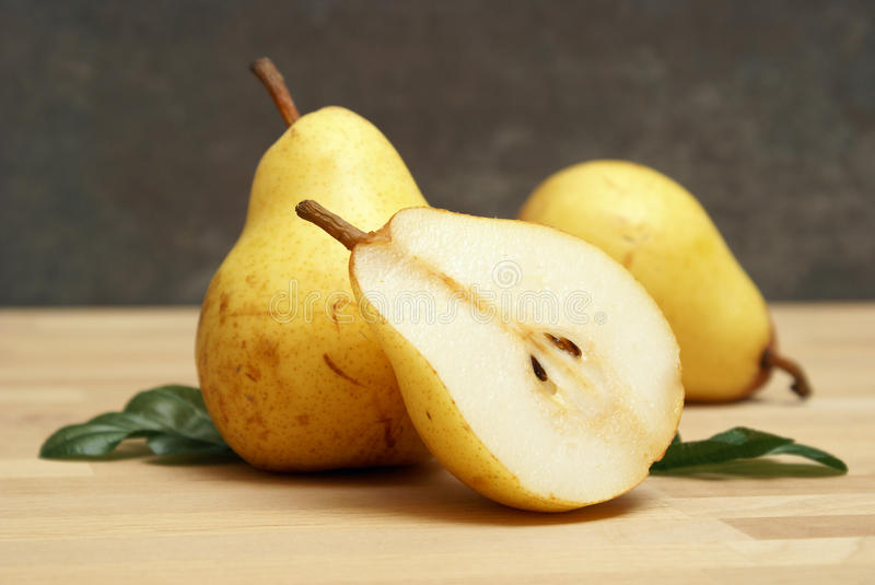 Download Pear Still Life stock image. Image of section, pear, ripe - 18902061