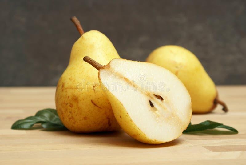 Pear Still Life stock image