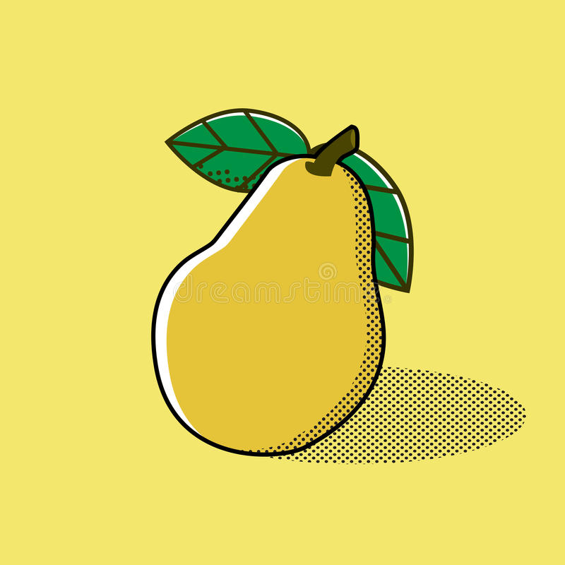 Download Pear.  Vector Illustration , Fruit Stock Vector - Image: 83724230