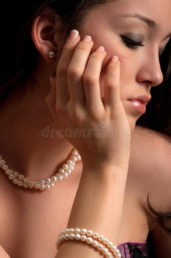 Download Pearl Stock Image - Image: 12491801