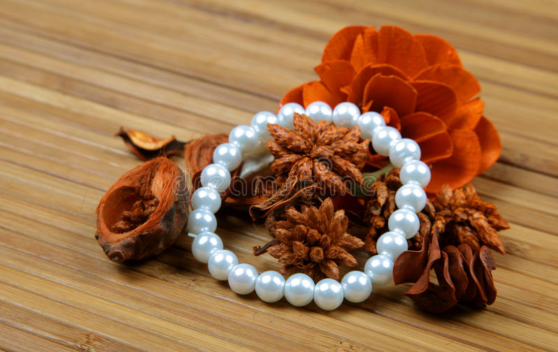 Download Pearl bracelet stock photo. Image of isolated, jewel - 16442592
