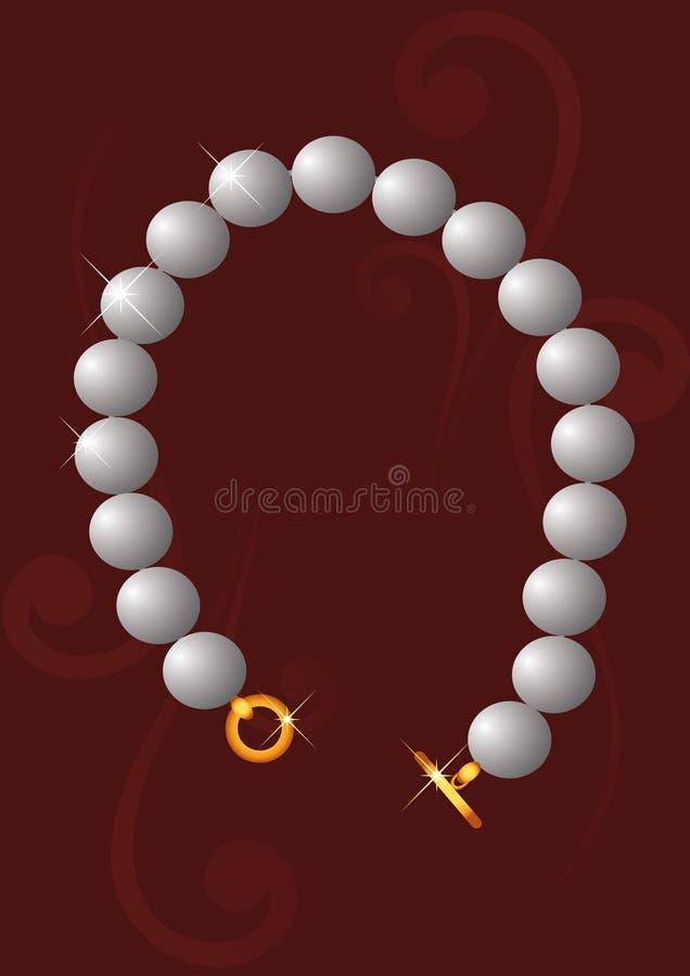 Pearl Bracelet vector illustration