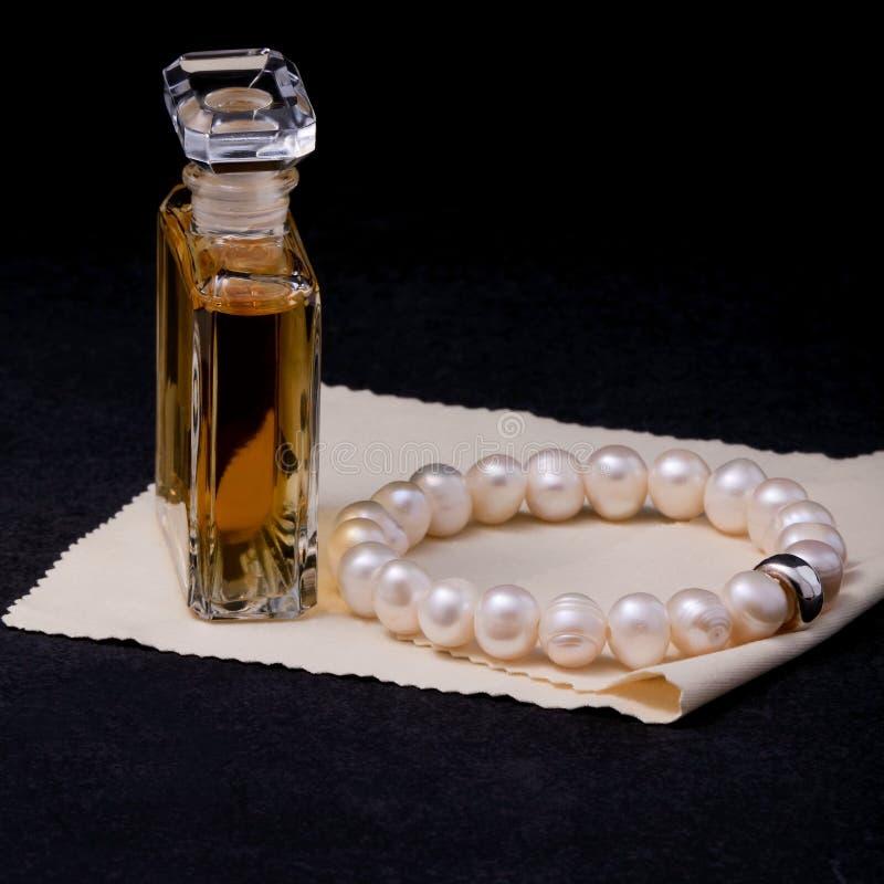 Pearl bracelet royalty free stock image