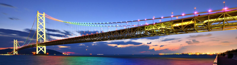 Pearl Bridge stock photo