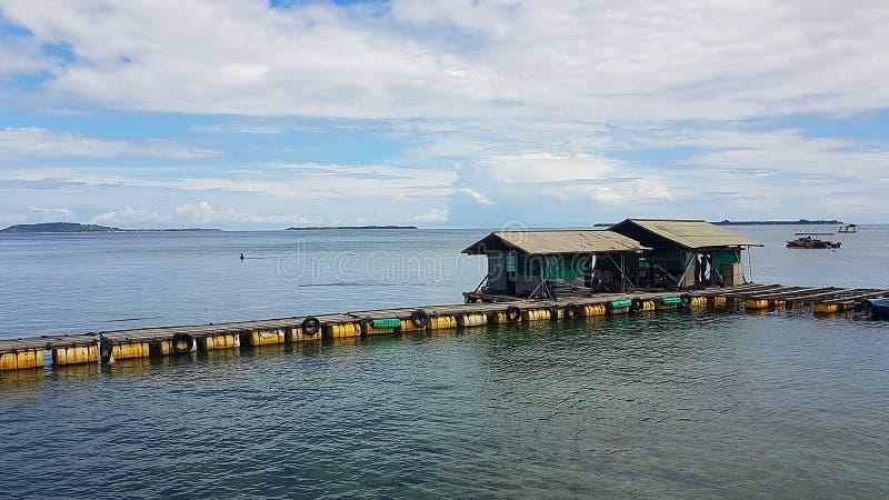 Pearl Farm on Lombok stock photos