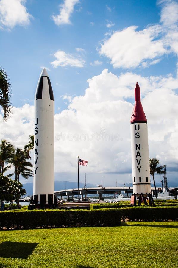 Pearl Harbour pomnik fotografia royalty free