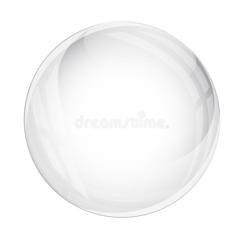 Pearl isolated on white background. Vector vector illustration