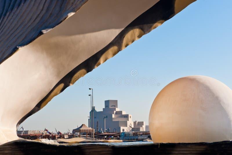 Download The Pearl Landmark On The Doha Corniche Stock Photo - Image: 16722902