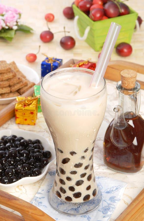Pearl milk tea stock photos
