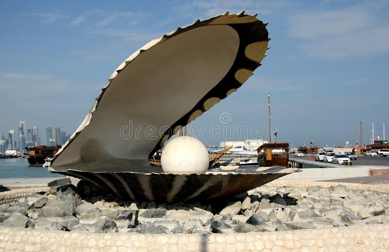 Download The Pearl Monument In Doha, Qatar Editorial Photography - Image: 36636432