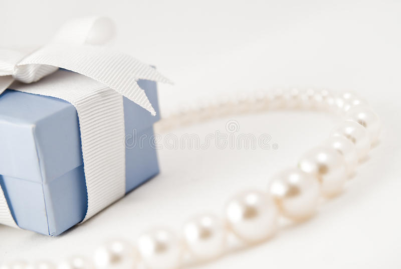 Download Pearl necklace stock photo. Image of shiny, gemglamour - 12958914