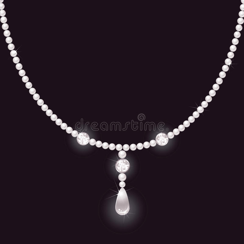 Free Pearl Necklace Royalty Free Stock Images - 18093969