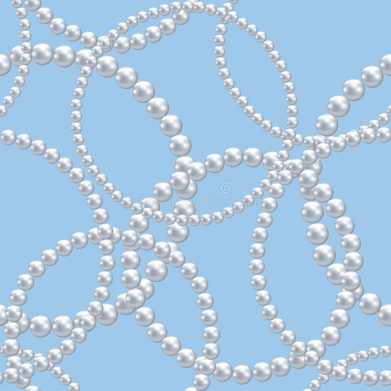 Free Pearl Necklace Stock Image - 30155591