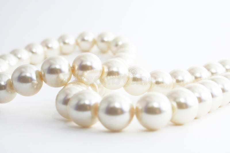 The Pearl necklace. royalty free stock photo