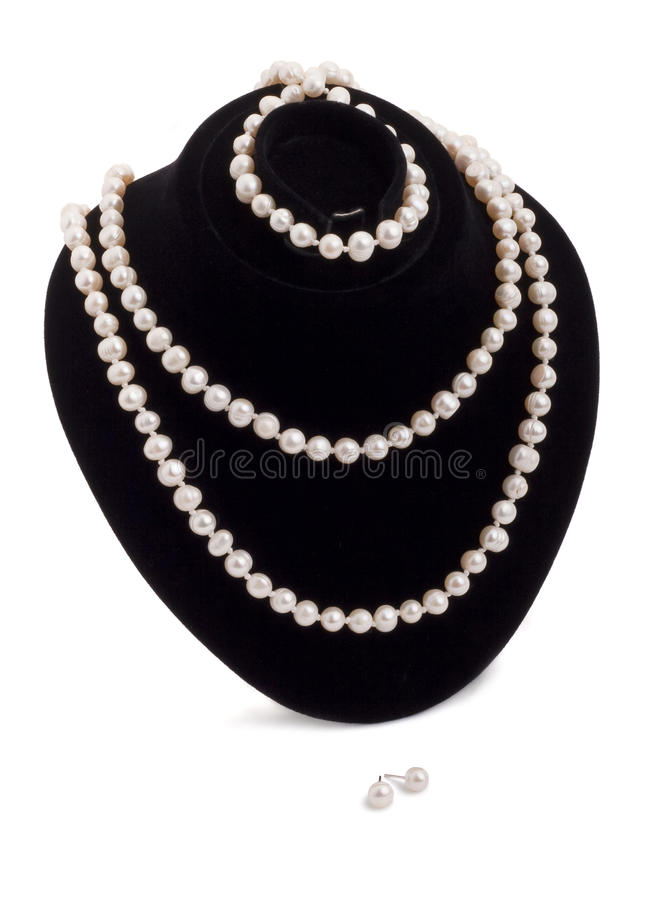 Free Pearl Necklace Stock Images - 9927214