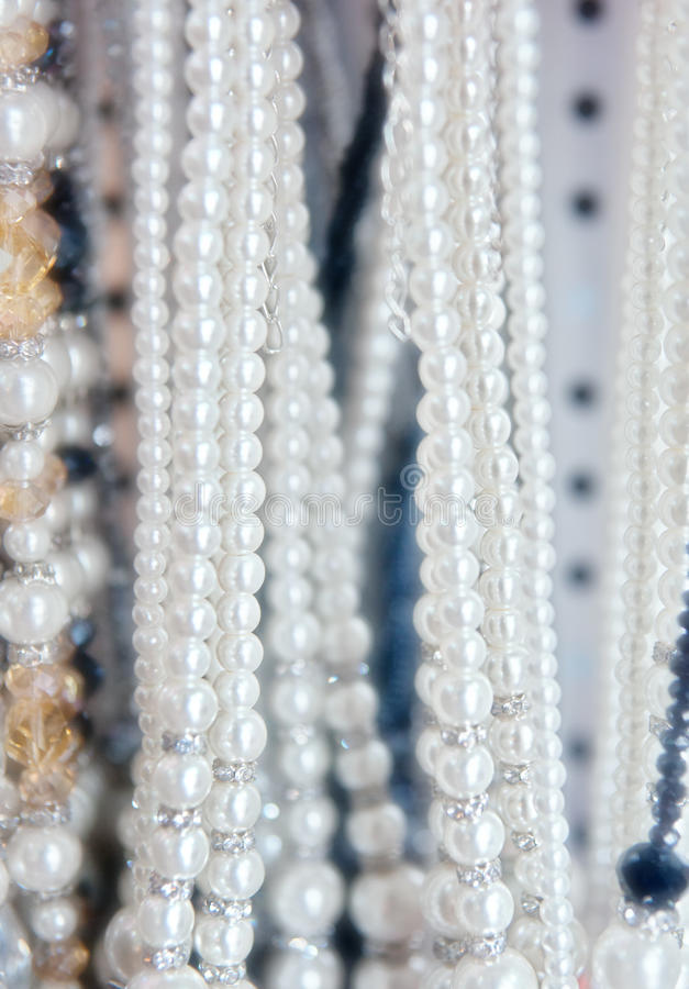 Download Pearl necklaces for sale stock photo. Image of decoration - 30828062