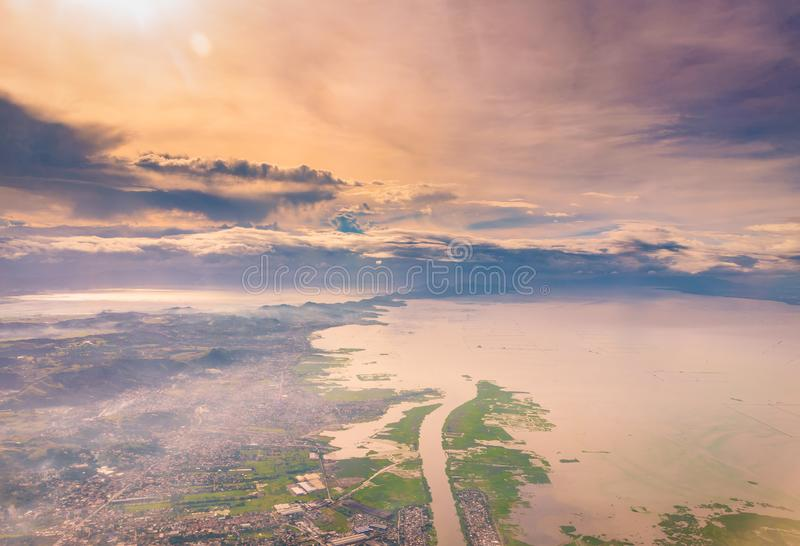 The Pearl of the Orient : Philippines stock image