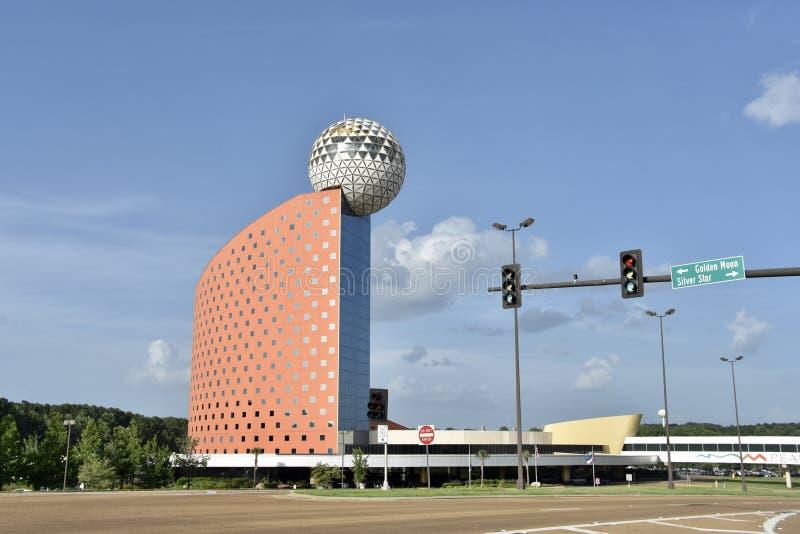 Pearl River Erholungsort-Spiel und Kasino, Choctaw, Mississippi lizenzfreie stockbilder