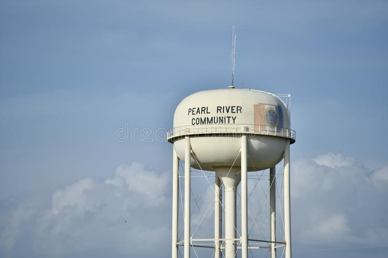 Pearl River Gemeinschaft, Pearl River Mississippi stockfotos