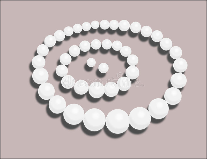 Download Pearls illustration stock illustration. Image of purple - 32002822