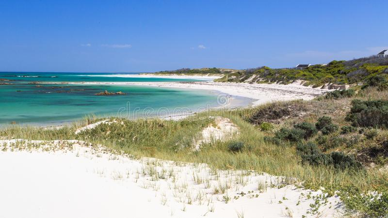 Deserted beach - Pearly beach - South Africa royalty free stock photo