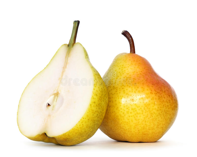 Pears royalty free stock photos
