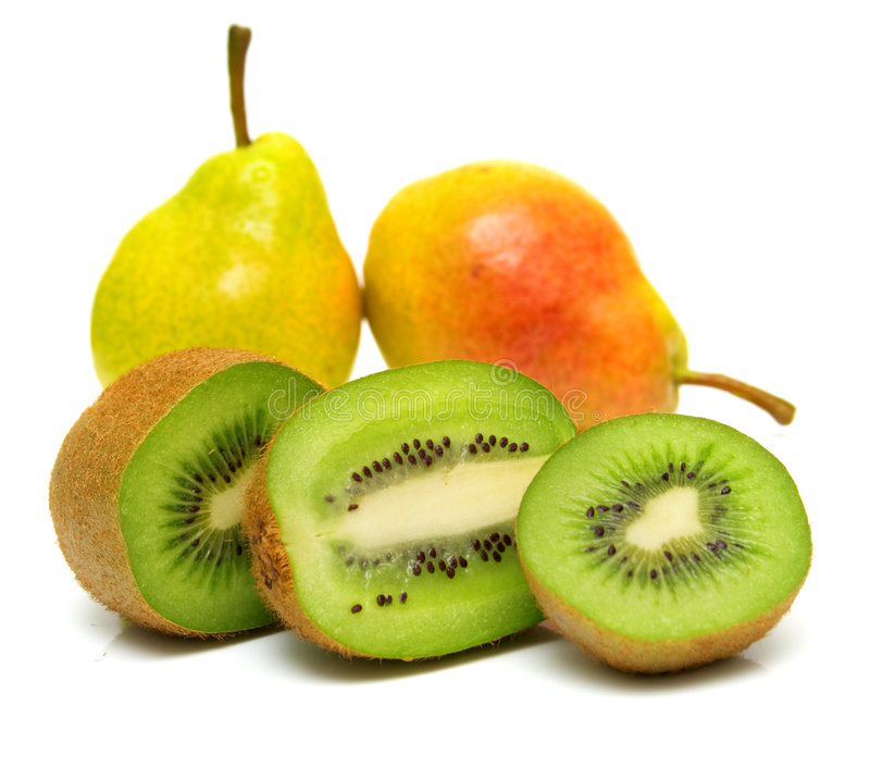 Free Pears And Kiwi 7 Stock Images - 4751884