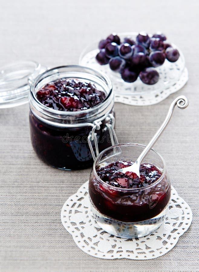 Free Pears Grape Jam Stock Photography - 33218582