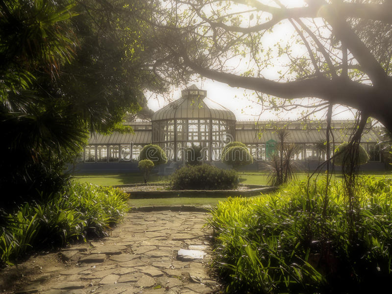 Pearson Conservatory in Port Elizabeth lizenzfreie stockfotografie