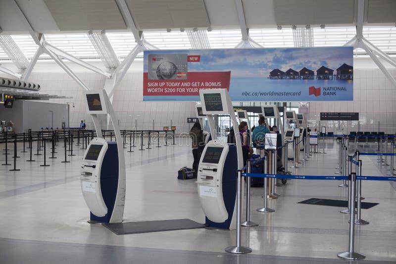 Toronto Pearson lotnisko międzynarodowe zdjęcie stock