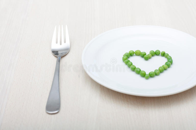 Download Peas stock photo. Image of positivity, dinner, healthy - 10086782