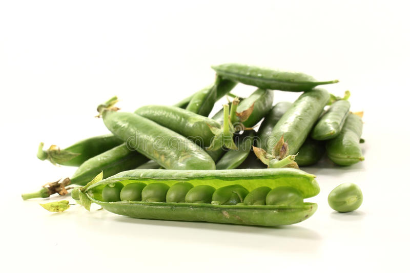 Download Peas stock image. Image of green, isolated, legumes, fruit - 25675993