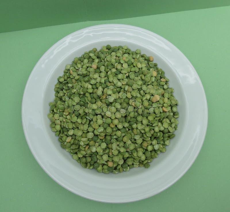Peas legumes vegetables food stock image