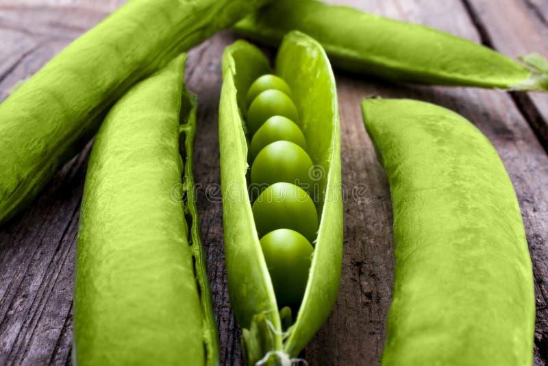 Peas in a pod royalty free stock photos