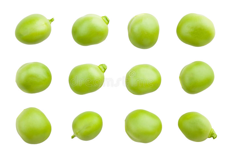 Peas seeds stock photos