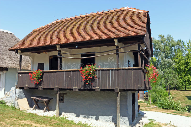 Peasants house royalty free stock photography