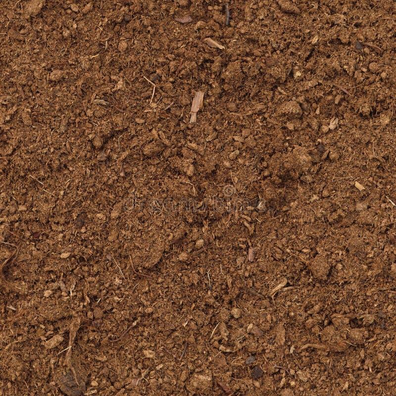 Peat Turf Macro Closeup, Large Detailed Brown Organic Humus Soil Background Texture Pattern ...