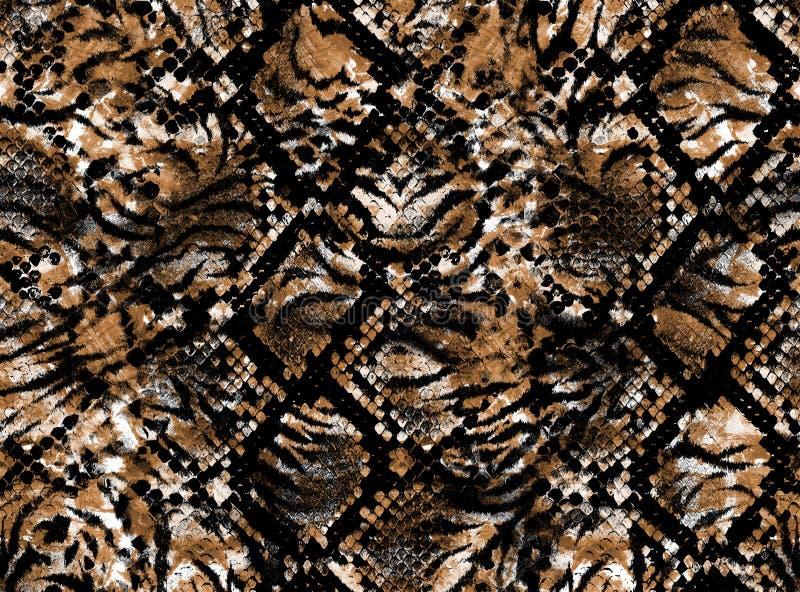 Peau d'un léopard images stock