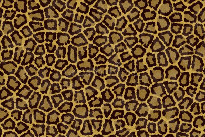 Peau de léopard illustration de vecteur