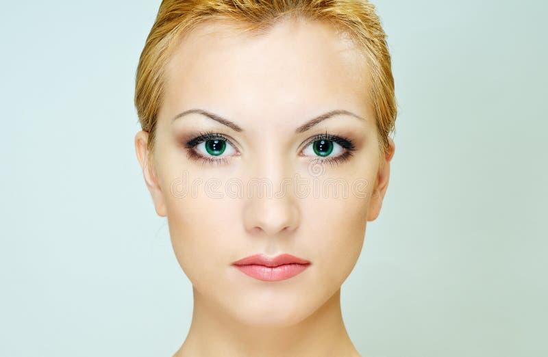 Peau de santé de visage photographie stock libre de droits