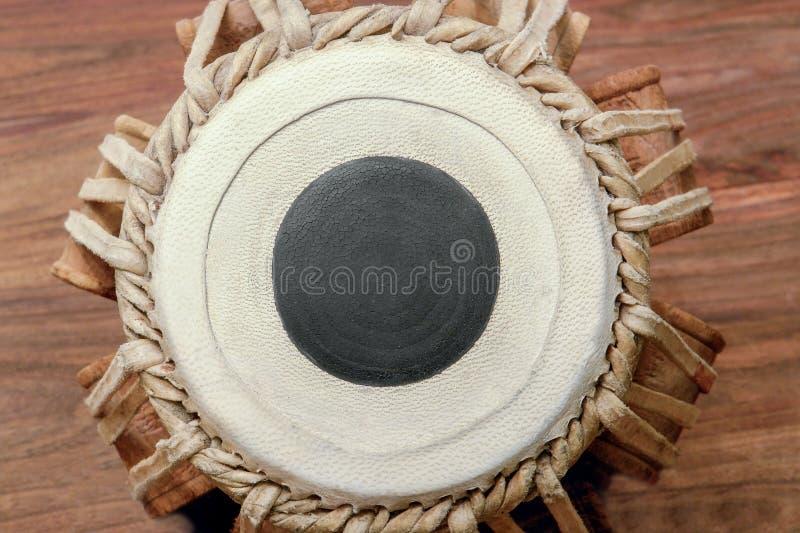 Peau de tambour de Tabla image libre de droits