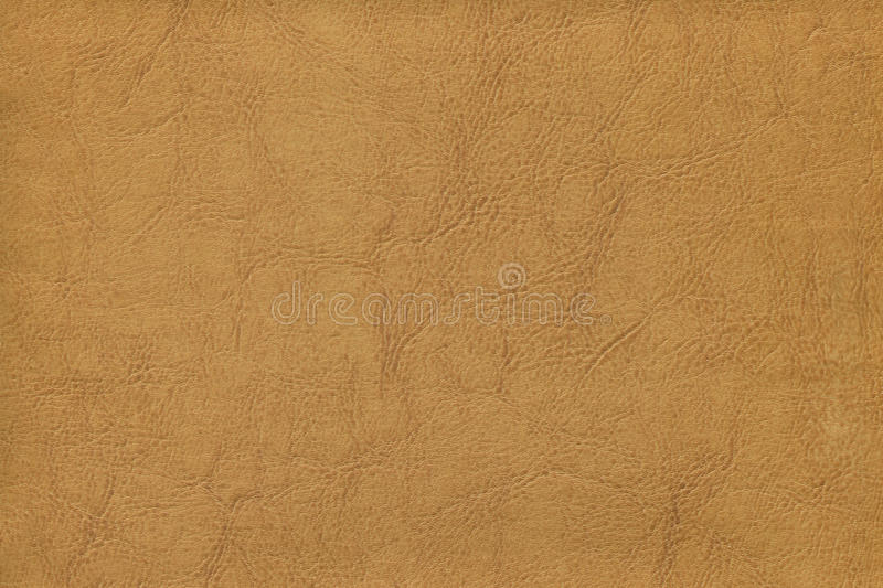 Peau de vache de Brown - cuir images stock