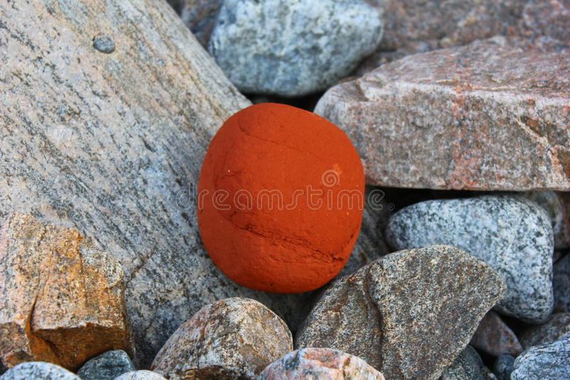 Pebble baikal stock image