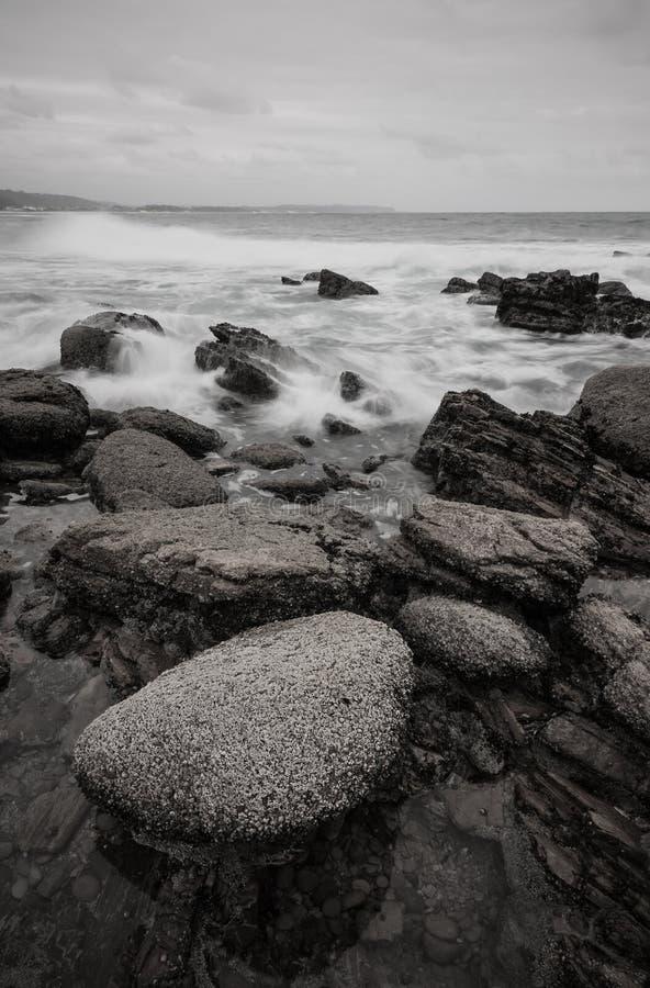 Download Pebble beach stock image. Image of rock, shoreline, water - 27159819