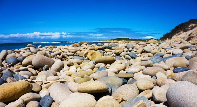Pebble Beach lizenzfreies stockfoto